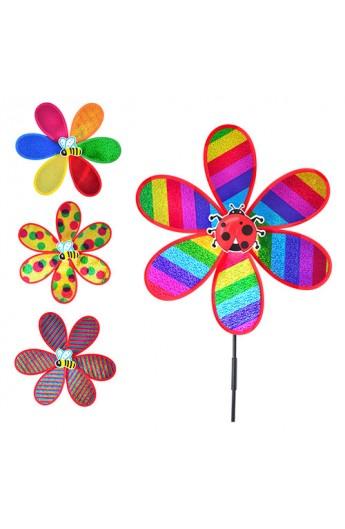 Вітрячок M 0789 квітка, 4 види, кул., 38-38 см