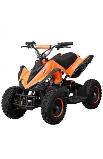 Квадроцикл HB-6 EATV 800 B-7 мотор 800W, 3 акум. 12A/12V, 30 км/год, вага до 100 кг, помаранчевий