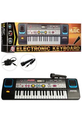 Синтезатор MQ869USB 37 клавіш, мікрофон, запис, USB, МР3, кор., 47-14-6 см.