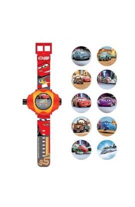 Годинник Тачки з проектором на 10 зображень