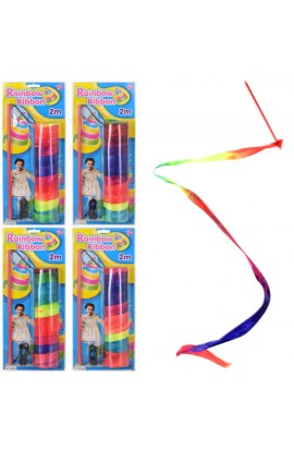 Спортивний інвентар ESA505 стрічка для гімнастики, лист, 16,5-38-4 см.