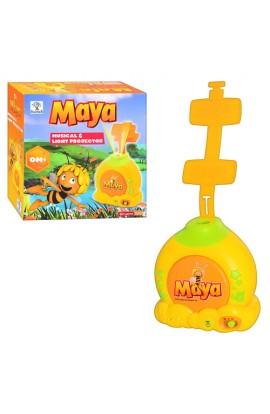 Проектор дитячий бджілка Майя світло, звук, бат., 113015