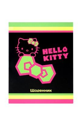 Щоденник шкільний, УФ-лак Hello Kitty-1