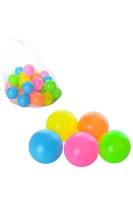 Кульки M 3507 для сухого басейну, 30 шт., 6 см., сітка, 21-21-21 см.