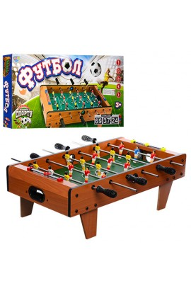 Футбол 2035N на штангах, дерев'яний, шкала ведення рахунку, кор., 69-58-23 см.