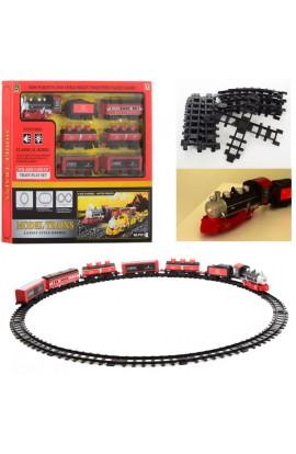 ЗД PYC11 локомотив, вагон 6  шт., муз., світло, бат., кор., 56,5-46-5,5 см.