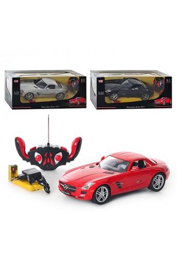 Машина DX 111420 DH 3 кольори, Mersedes Benz,  1:14, радіокер., акум., світло, кор.,43,5-19,5-18,5 с