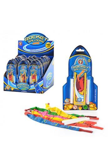 Кульки MK 0150 для гри з водою, 6 шт. на листі, 48 шт. в диспл., 30-22-21 см