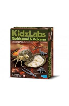 Дитяча лабораторія. Хиткі піски і вулкан