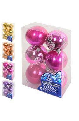 Ялинкова кулька 7см 6шт/кор, 8618