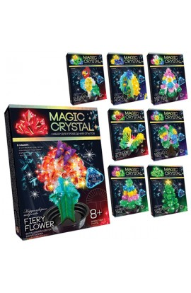 Набір для проведення дослідів  MAGIC CRYSTAL  (16), ОМС-01-01,02,03,04,05..08 ДАНКО ТОЙС