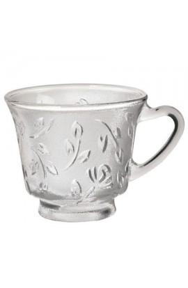 Набір чашок скло 6шт/наборі, Z3406