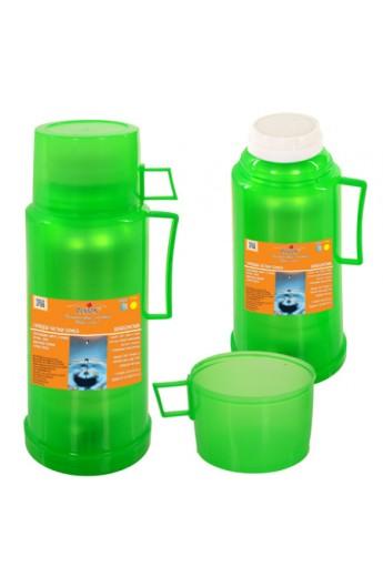 Термос пластиковий з скляною колбою 0,5л, DB105T