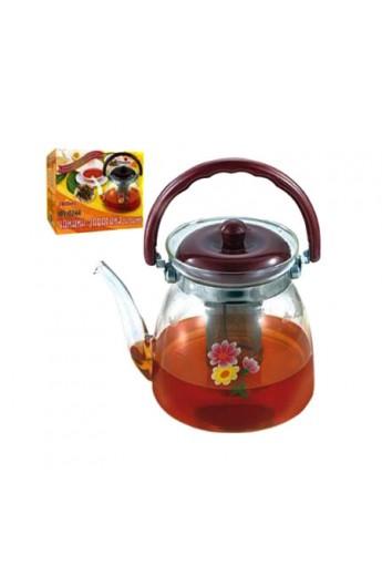 Чайник скляний 2400мл, MS-0244