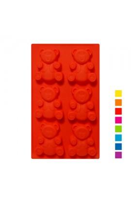 Форма для випікання силіконова для печива 6шт/листі 31*18*2,2см, XY-C1140