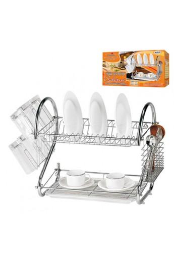 Сушка для посуду металева, H-53см, MH-0318 (0138)