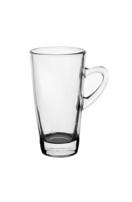 Набір чашок скляних 6шт/наборі, 320мл, ZB128