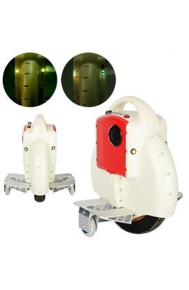 Моноколесо TR-D03-1 350W, акум., світло, 18км/г, 120кг, Bluetooth, білий