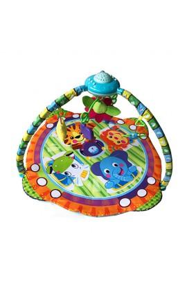 Килимок для немовляти PY603, дуга, підвіски 5 шт., проектор, світло, муз., бат., кор., 56-38,5-11см.
