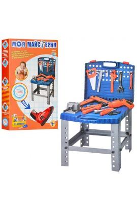 Набір інструментів 008-22 валіза, дриль,  чемодан-стіл, кор. 58-36-7,5 см